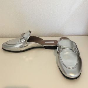 Topshop Leather Mules NWOT